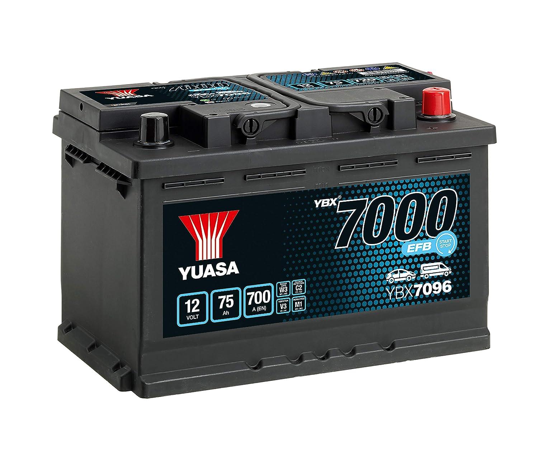 Yuasa YBX7096/Efb Start Stop batteria