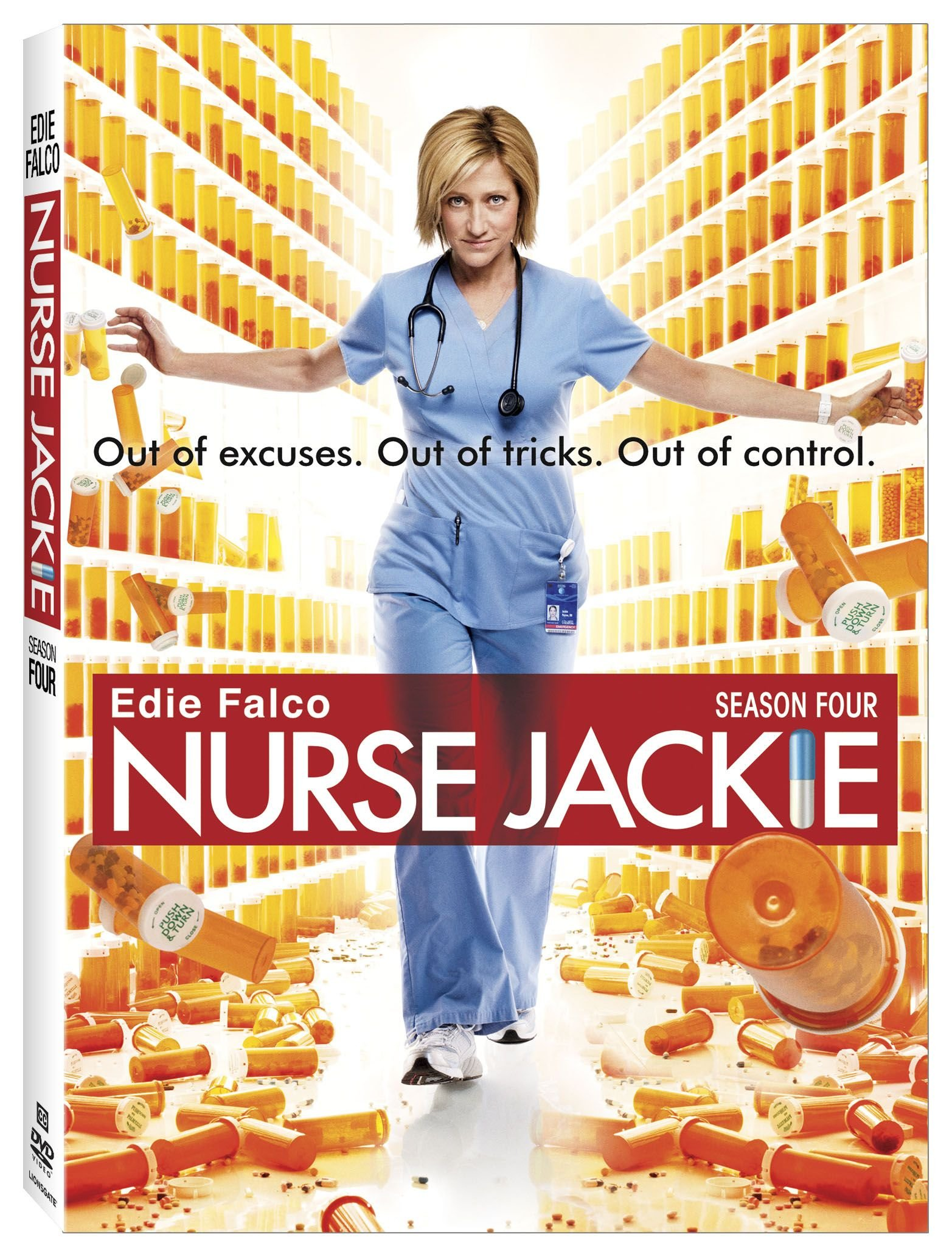 DVD : Nurse Jackie: Season 4 (Widescreen, Dolby, )