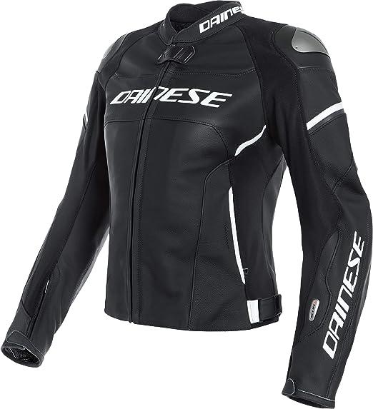 Dainese Motorradjacke Mit Protektoren Motorrad Jacke Racing 3 D Air Damenlederjacke Sportler Sommer Bekleidung