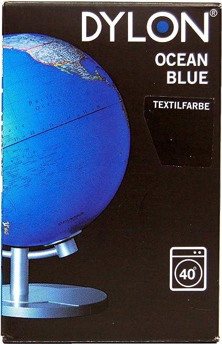 Dylon M26 Ocean Blue - Tinte para Ropa (200 g), Color Azul ...