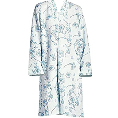 a7c21acd9f Women s Zip-Front Comfy Quilted Cotton Robe