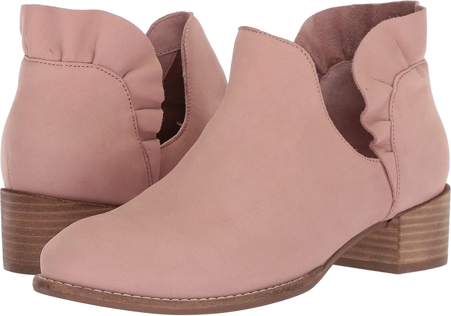 Seychelles Women's Renowned Ankle Boot B079HGS51Y 6.5 B(M) US|Pink Nubuck
