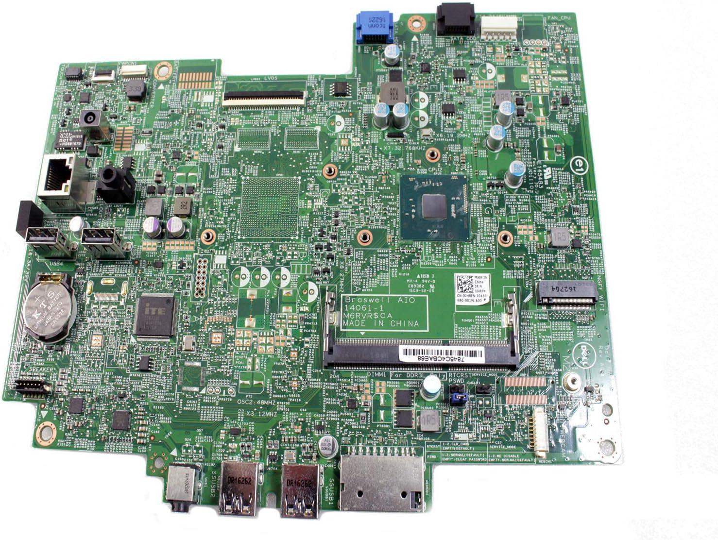 Dell Inspiron 20 3052 AIO Intel Celeron N3150 1.6GHz Motherboard W03YM 0W03YM