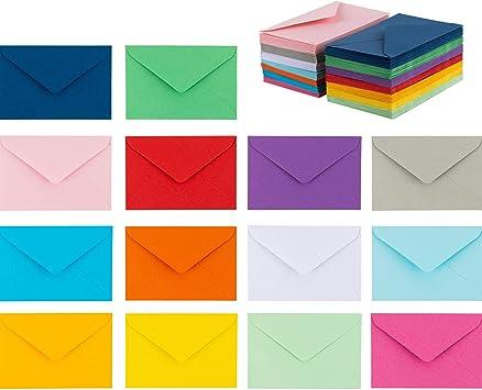 Amazon.com: 140 sobres pequeños, 14 colores surtidos ...
