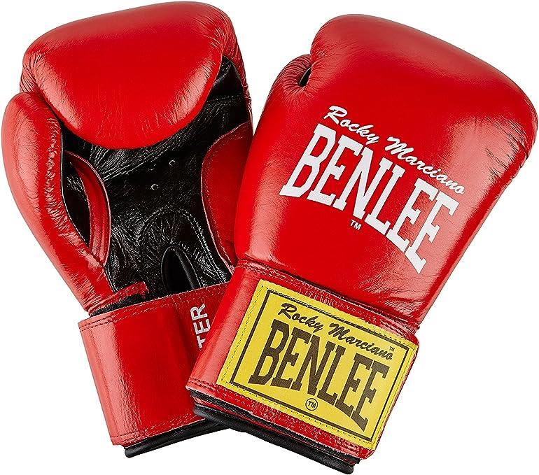 Ben Lee Fighter Vendas de Boxeo, Unisex Adulto, Rojo, 14 oz: Amazon.es: Deportes y aire libre