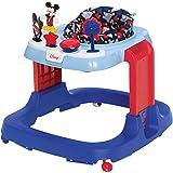Disney Baby Ready, Set, Walk! DX Developmental Walker, Mickey Modern Play (WA096FBH) , 27.94x24.25x7 Inch (Pack of 1)