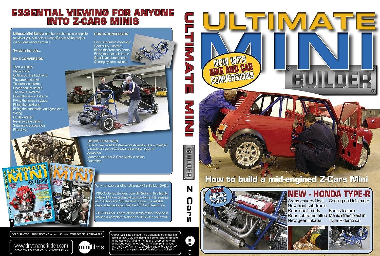 ULTIMATE MINI BUILDER DVD - Z CAR MADNESS: Amazon co uk: DVD