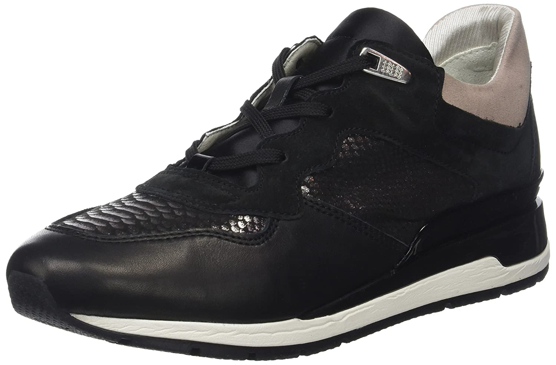 Geox D Shahira B, Zapatillas para Mujer 38 EU Negro (Black)