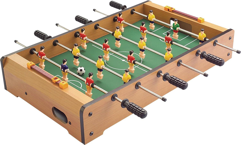 Solex 90202 - Futbolín (Madera, tamaño pequeño, 48,5 x 28,5 x 8,4 ...