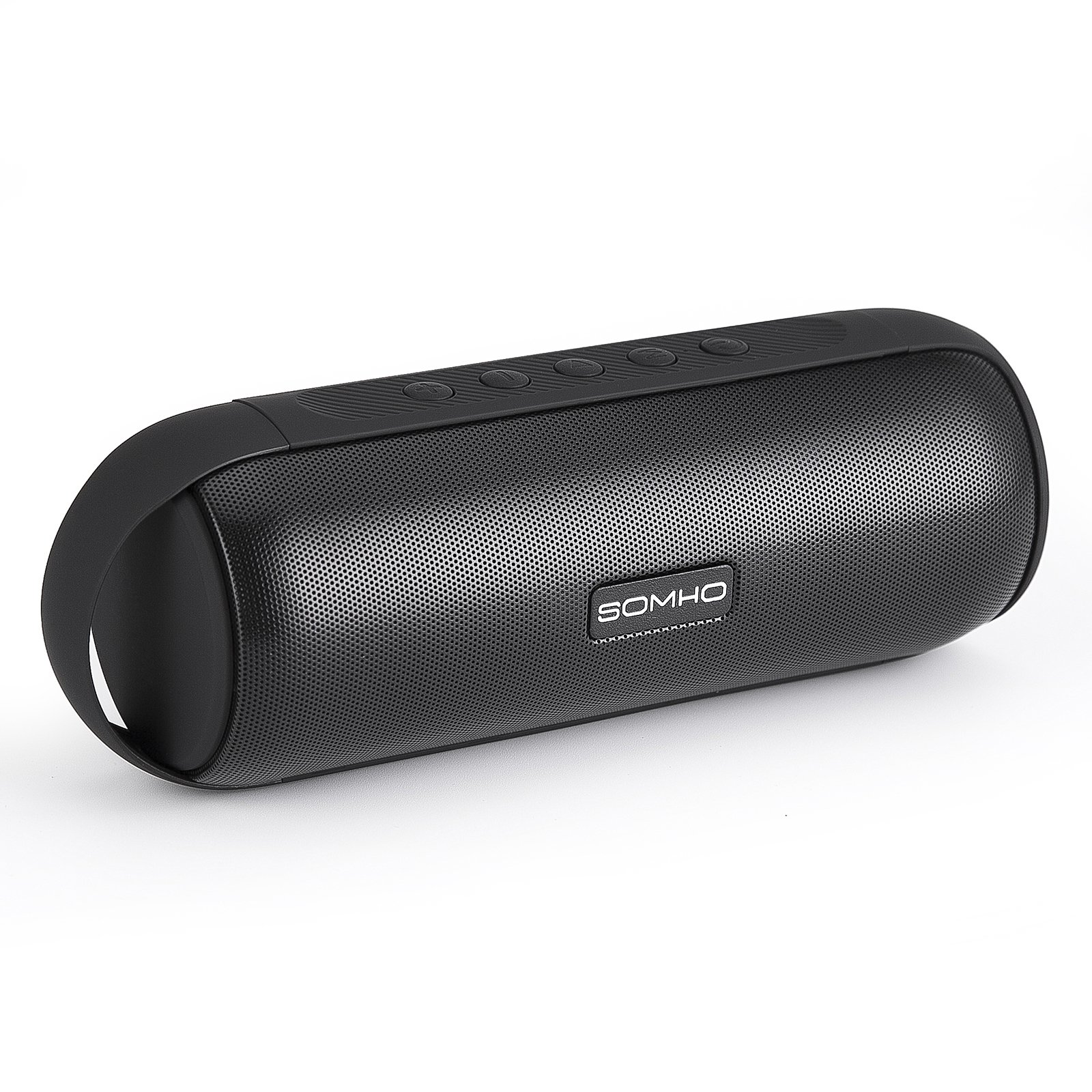 TG Portable Wireless Bluetooth Speaker with Enhanced Bass, HD Sound, Handsfree Calling, TF Card Slot and FM Radio,for Iphone , Andoid , Tablet Computer Loudspeaker House Party SOMHO S327 BLACK