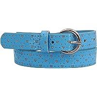 EANAGO Cinturón infantil para niñas (niños de guardería y primaria, 5-9 años, cintura de 57-72 cm), cinturón de 65 cm…