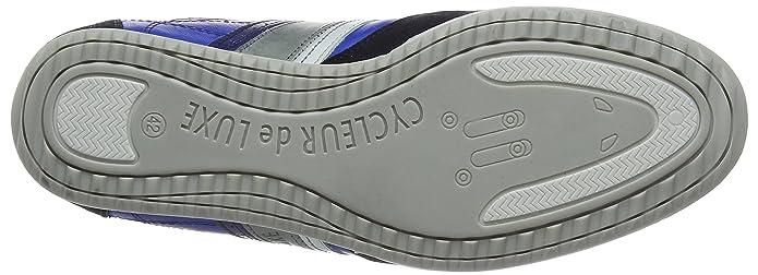 2e959855c70cf4 Cycleur de luxe CRASH, Baskets homme - Bleu - Blau (COBALT BLUE/NAVY/OFF  WHITE), 41: Amazon.fr: Chaussures et Sacs