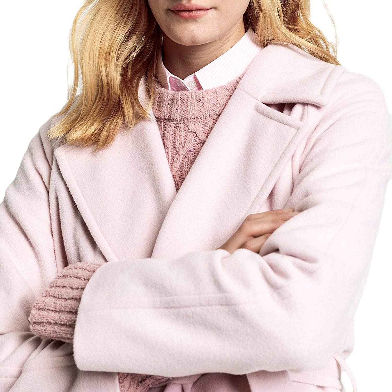 GANT D1. Short Wrap Womens Jacket Silver Pink