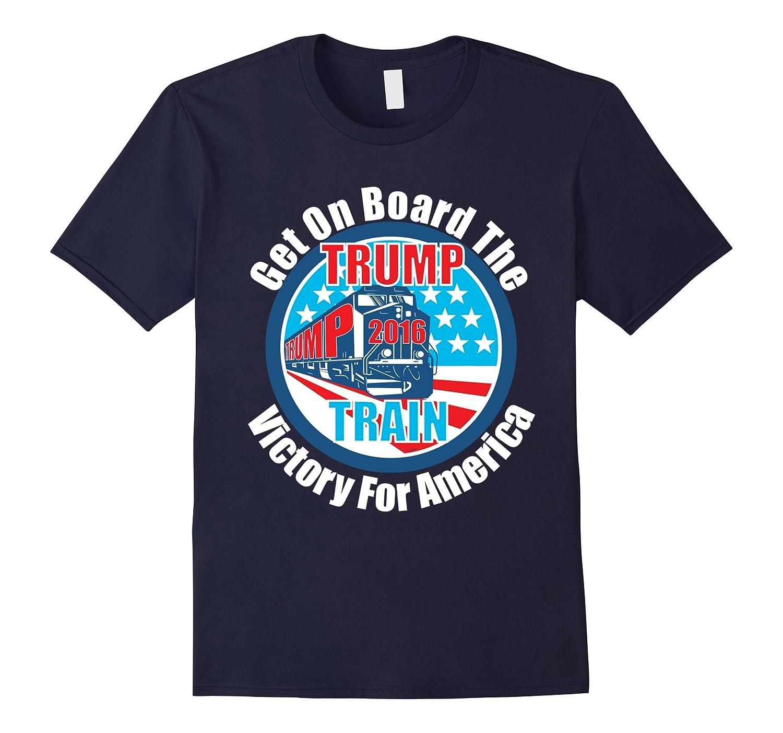 New Original Trump Train Donald Trump 2016 T-Shirt-BN