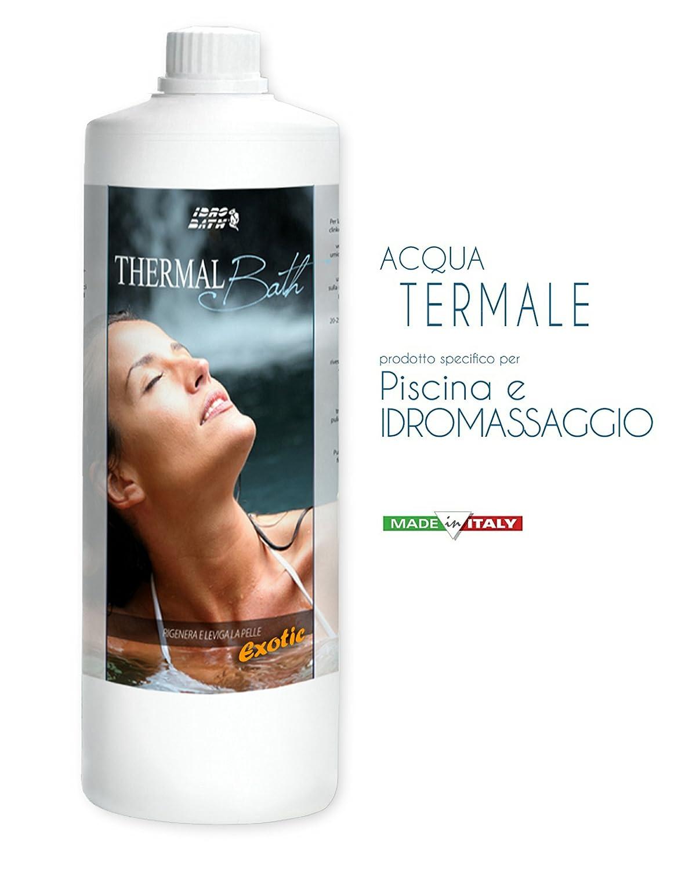 Aromas y agua termale, Perfumes Para Spa, Jacuzzi y Piscina. Kit Surtido 1lt. X 3PZ.. envío immediata: Amazon.es: Jardín
