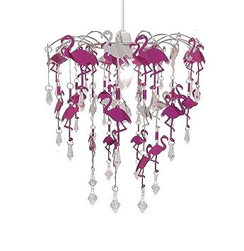 Schon Kinder Meerjungfrau Flamingo Feen Schlafzimmer Kronleuchter Schlafzimmer  Lampenschirm Für Mädchen Kinderzimmer Dekoration (Flamingo)