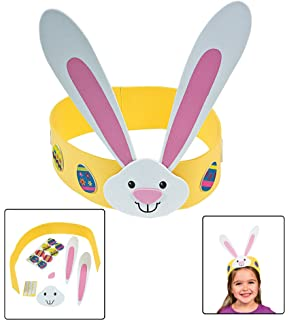 Amazon Com Fun Express Easter Bunny Mask Ck 12 For Easter Craft