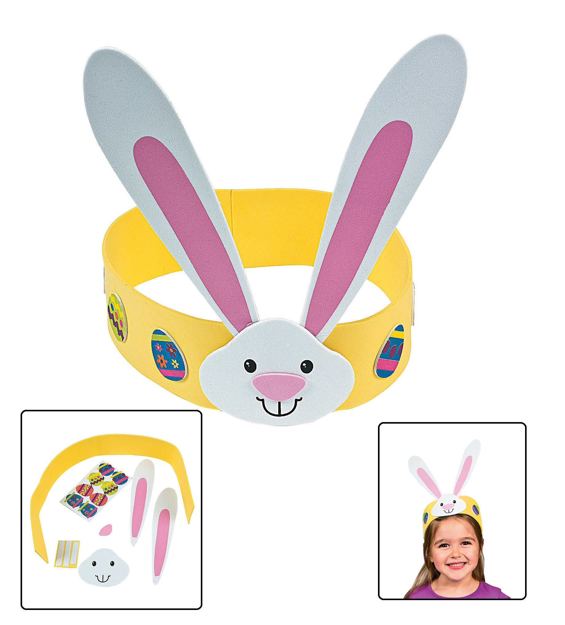 Foam easter egg decorating craft kit one for Amazon arts and crafts for kids
