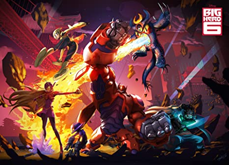 Posterhouzz Movie Big Hero 6 Hd Wallpaper Background Fine