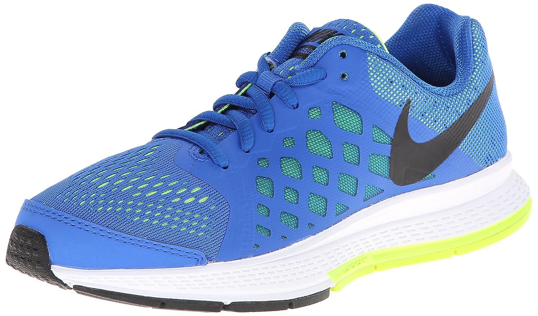 size 40 59140 66c5a Amazon.com  Nike Boy s Zoom Pegasus 31 Running Shoe (1Y-7Y) Hyper  Cobalt Volt White Black Size 6.5 M US  Sports   Outdoors