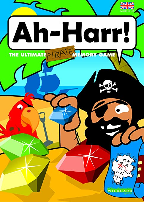 Amazon com: Ah-HARR! - The Ultimate Pirate Memory Matching