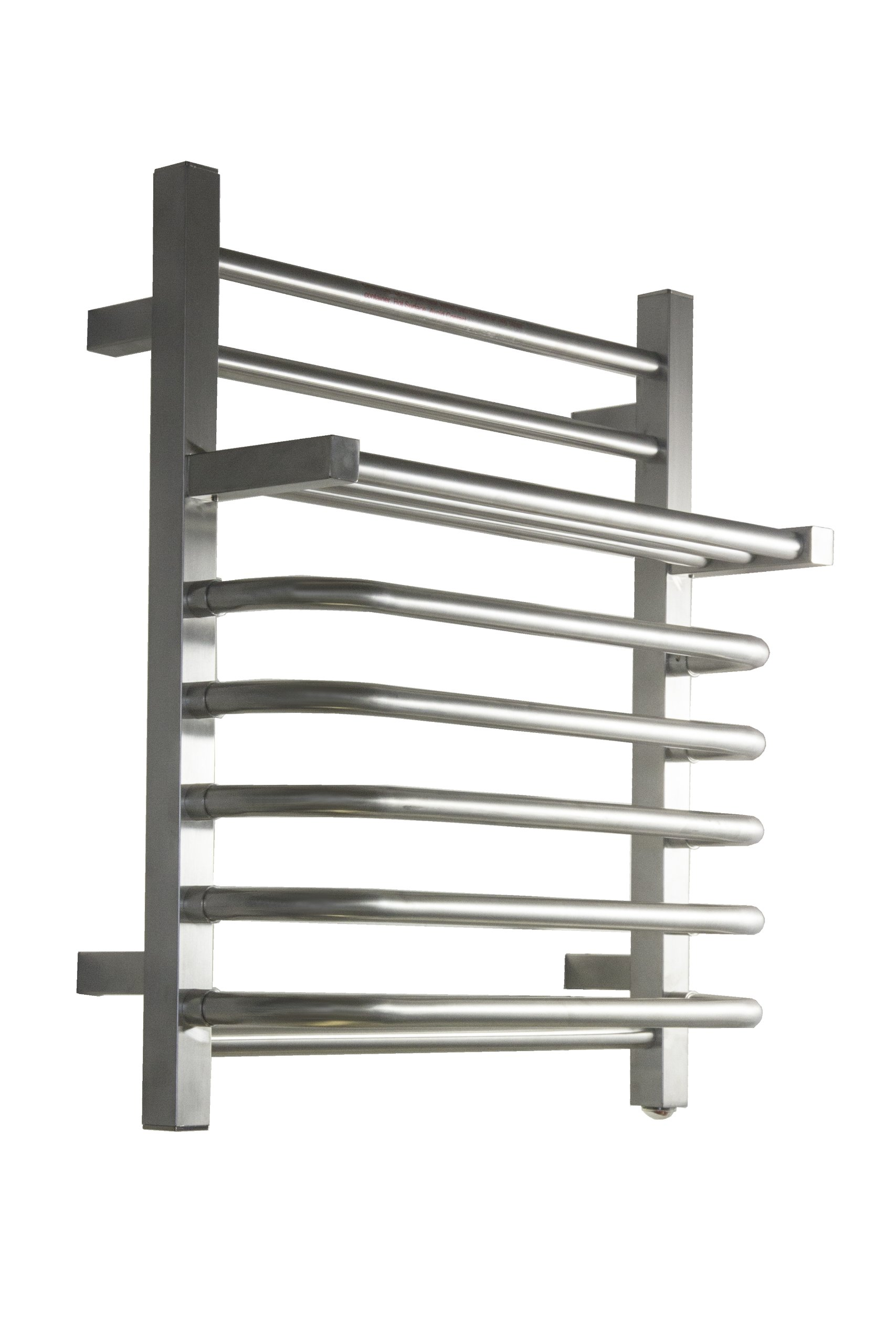 Virtu USA VTW-118A-BN Kozë Collection Towel Warmer, Brushed Nickel