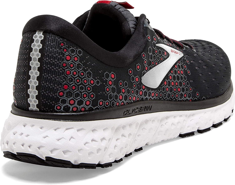 Black//Ebony//Red Brooks Mens Glycerin 17 Running Shoe 10.5 D