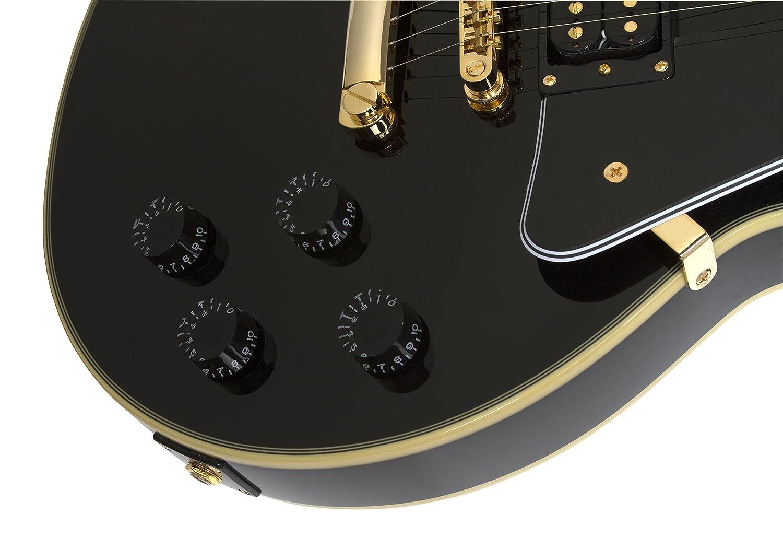 Epiphone Ltd Ed Les Paul Classic Custom PRO (GH) - Guitarra eléctrica, color negro: Amazon.es: Instrumentos musicales