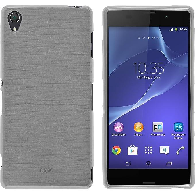 Amazon.com: Carcasa de silicona para Sony Xperia Z3 ...