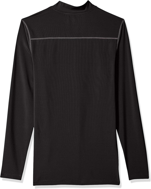 Essentials Mens Control Tech Mock Neck Long-Sleeve Shirt Shirt
