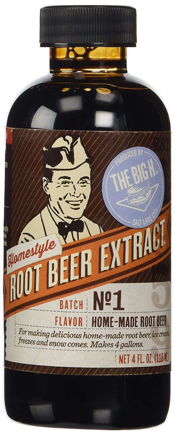 Hires Big H Root Beer Extract, Make Your Own Root Beer