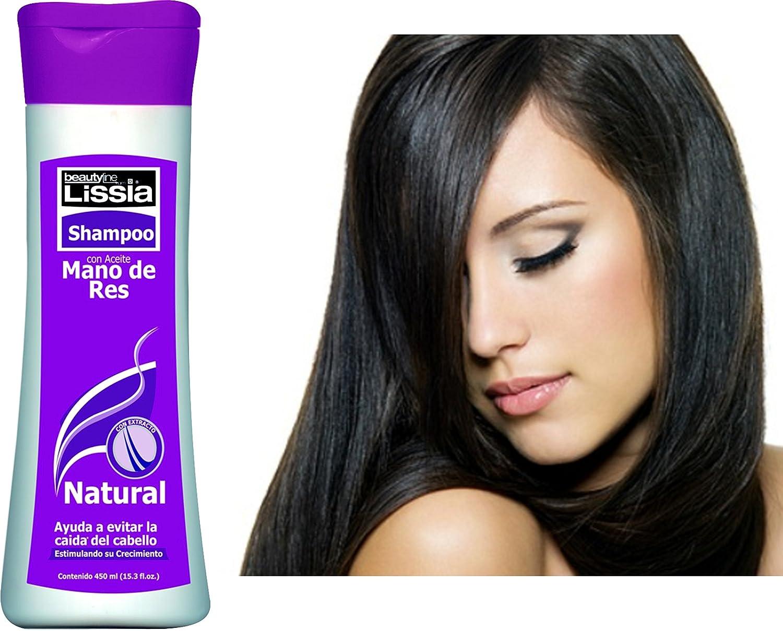 Amazon.com : lissia Shampoo Mano De Res Colombiano / Bubulum ...