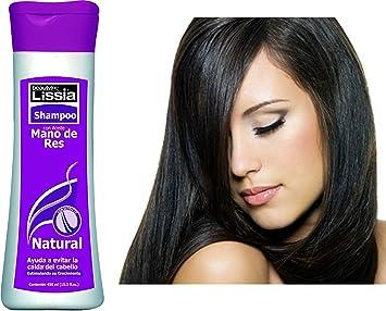 lissia Shampoo Mano De Res Colombiano / Bubulum Oil Shampoo. Ayuda a evitar la resequedad