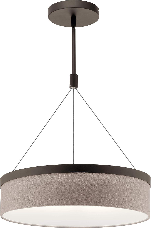 Amazon.com: Kichler Lighting 42297OZLED Mercel - Colgante de ...