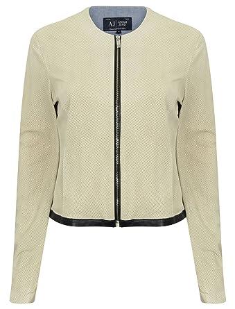 c1b35928fb27 Emporio Armani - Blouson - Femme   - jaune -  Amazon.fr  Vêtements et  accessoires
