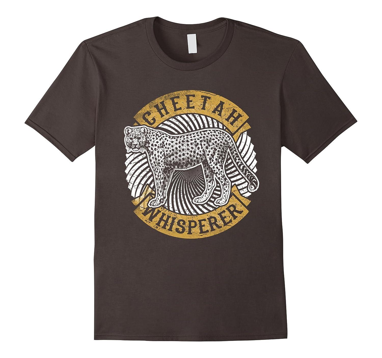 Cheetah Whisperer Funny Tee Shirt Leopard Fast Cat Gift-AZP