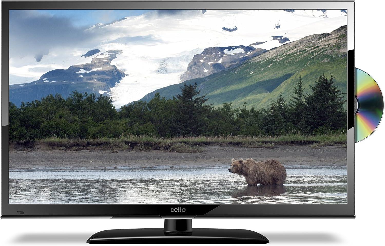 Televisión con TDT y DVD, con puerto USB con grabadora, LED digital, ultra delgada, 20