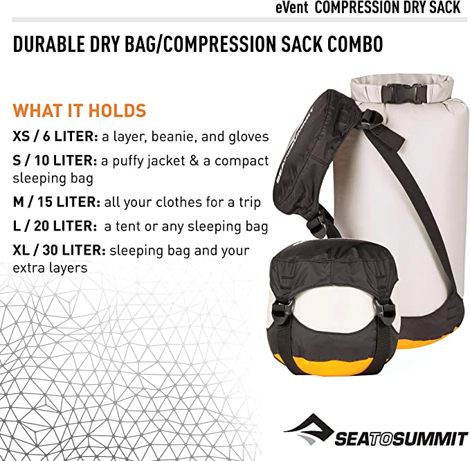 XX-SML Sea to Summit Ultra-Sil Compression Dry Sack