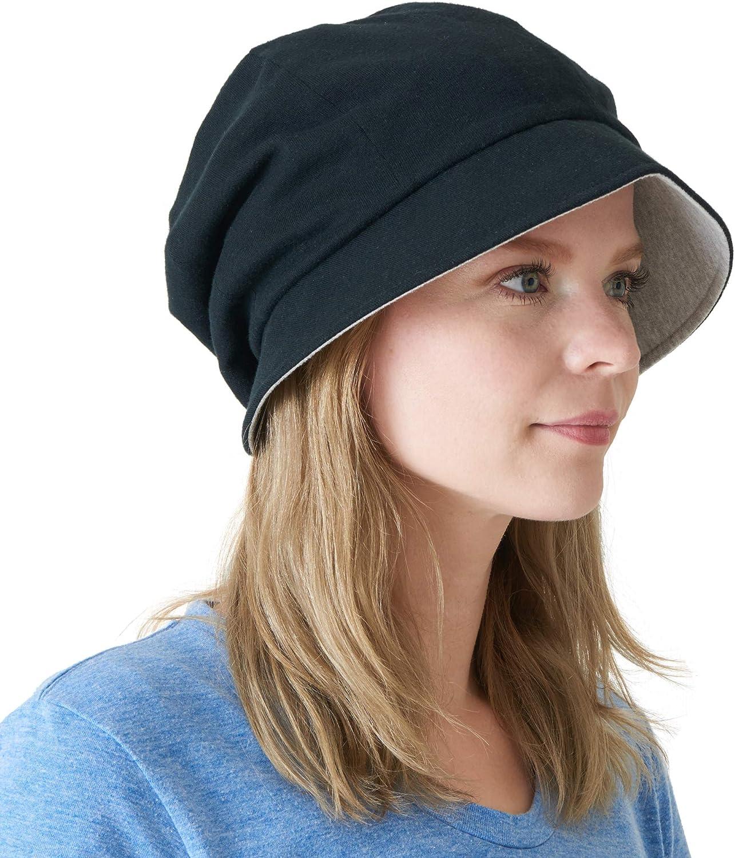 CHARM Casualbox   Womens Sun Hat Organic Cotton Reversible Japanese Design