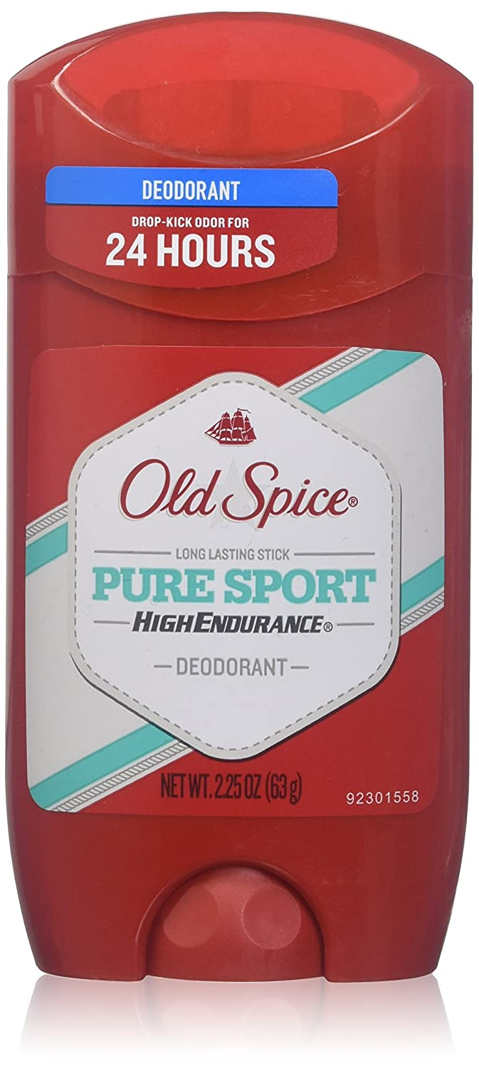 Old Spice Solid Deodorant, Pure Sport, 2.25 Ounce by Old Spice B00FL8R4HS