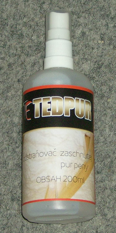 Removedor especial para espuma de PU endurecido TEDGAR TEd Pur 105 ml: Amazon.es: Bricolaje y herramientas