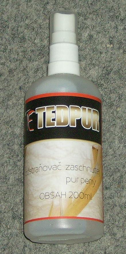 El eliminador de espuma de poliuretano de secado TED Pur 205 ml TEDGAR