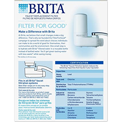 Amazon Brita On Tap Basic Water Faucet Filtration System Filter