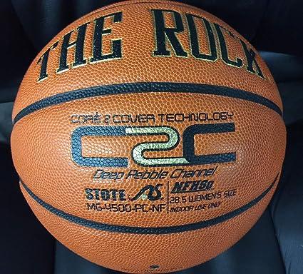 Amazon.com: El Rock- – Balón de baloncesto (oficial práctica ...