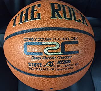 El Rock- – Balón de Baloncesto (Oficial práctica Ball-nfhs: Amazon ...