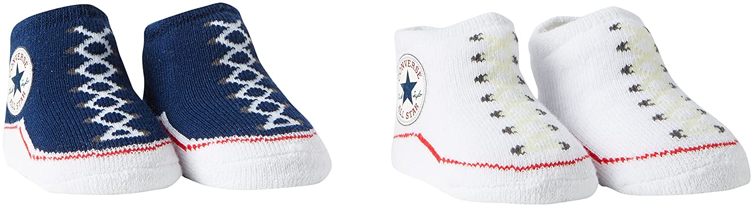 Converse Baby Booties Socks – Navy White