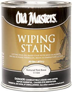 Old Masters 11104 1 Quart Natural Wiping Stain