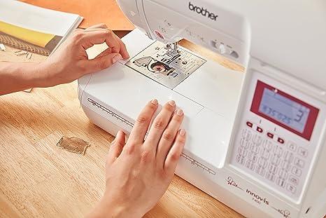 Brother Innov-is F400 Máquina de coser blanca: Amazon.es: Hogar