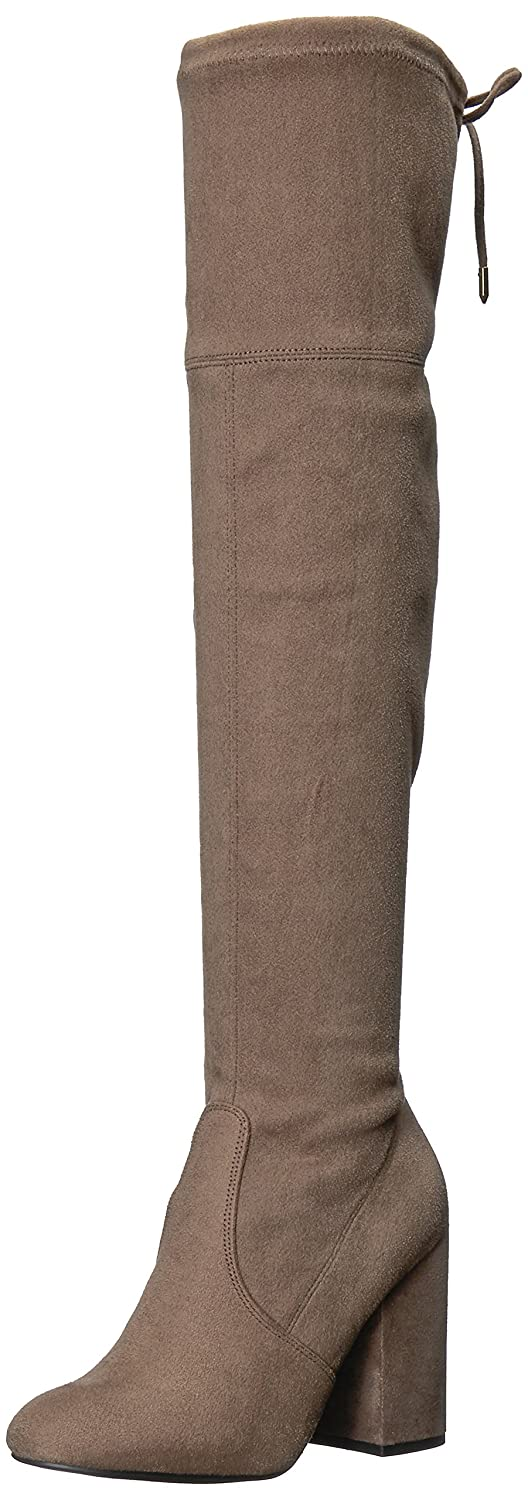 Steve Madden Women's Niela Over The Knee Boot B073H9Z25V 9 M US|Taupe