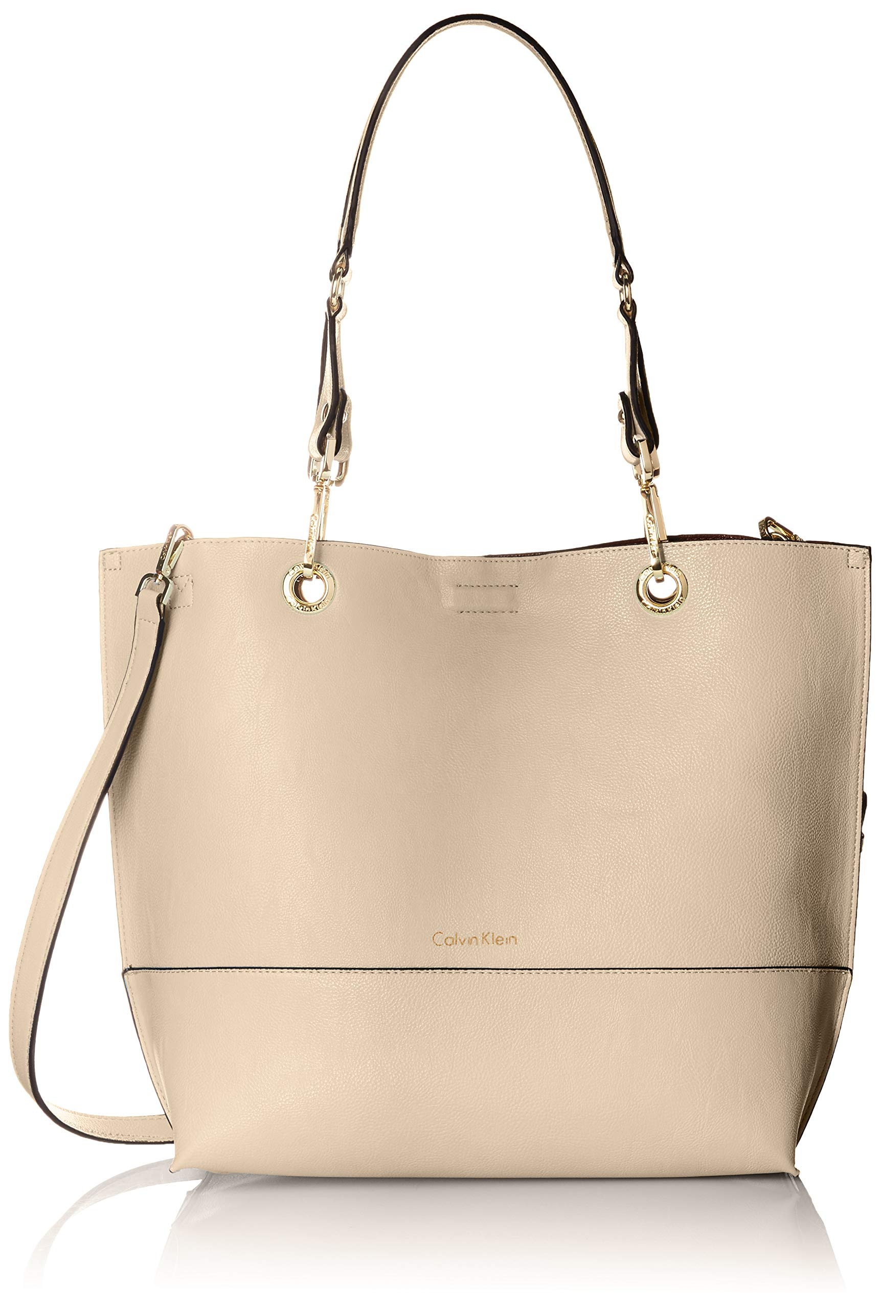 Calvin Klein Sonoma Reversible Novelty North/South Tote, Sand